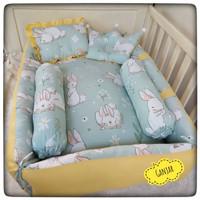 Kasur Baby Nest Bayi Set Bantal Guling -Kasur Box Bayi