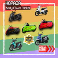 cover motor-selimut motor vario, mio, scoopy, beat, xride, soul, sonic - Hitam