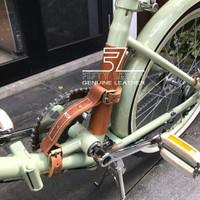 Aksesoris Sepeda Kulit / Handle Pembawa Sepeda / Aksesoris Sepeda