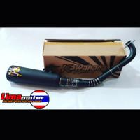 Knalpot KAWAHARA GT Pro Black Nmax old/new & Aerox