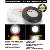 Downlight 3W Lampu Teras 3Watt LED Tempel Plafon 3 Watt Kuning