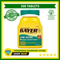 Bayer Aspirin Regimen Low Dose 81 mg Isi 300 Enteric Coated Tablets