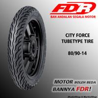 Ban Motor FDR City Force TT Tubetype 80/90-14 matic bukan Tubeless