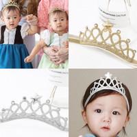 Bandana Mahkota Putri Bayi & Balita Bando Princess Crown Anak Headband