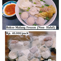 Bakwan Malang (home made) non halal