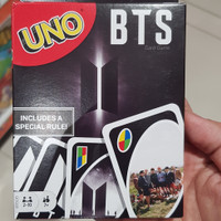 BTS UNO card mattel