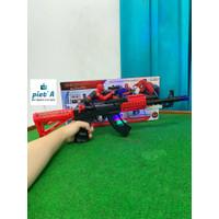 mainan anak tembak tembakan spiderman berusara berlampu keren termurah