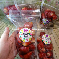 strawberry beku / strawberry frozen 250 gr - GRADE A