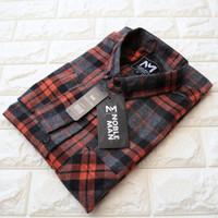 Grosir Kemeja Flanel Casual Pria / Baju Cowok Murah