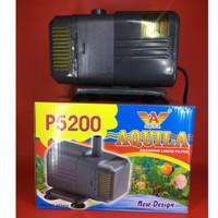 Pompa Filter Hidroponik Aquarium Aquila P5200
