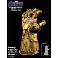 Powerbank Marvel Avenger Infinity Gauntlet Thanos