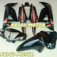 Fullset Full Body Halus + Striping Honda Supra Fit New