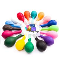 Balon latex polos warna / balon metalik warna isi 100 per pack