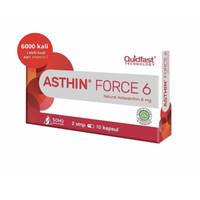 Asthin force 6 mg strip 10 kapsul (antioxidan tinggi 6000x vitamin C)