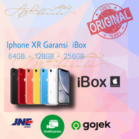 Iphone XR 64GB 128GB 256GB Garansi Ibox - Hitam, 64 gb