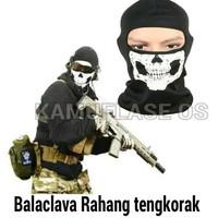 Masker ninja/Balaclava tengkorak