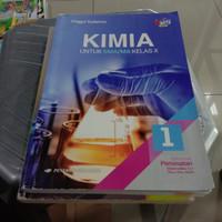 Buku KIMIA UNTUK SMA/MA KELAS X peminatan revisi