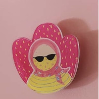 Pop Socket Hijab bu lamia