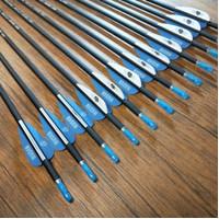 Anak Panah Mix Karbon / Musen Carbon composite Arrow Spine1000 OD6mm