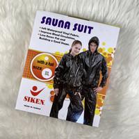 Sauna suit baju celana jaket sauna siken M/L/XL/XXL/XXXL