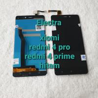 lcd touchsreen xiomi redmi 4 prime/ redmi 4 pro hitam