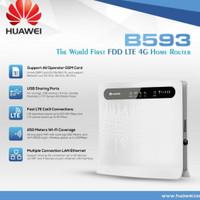 Huawei Home router B315 B593 - 4G LTE 4 LAN 1 USB 2 jack antena