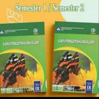 ORI paket buku siswa IPA terpadu k13 dikbud kelas 9 semester 1 dan 2