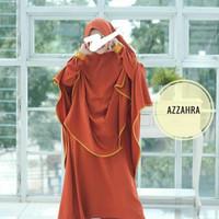 baju gamis anak cadar usia 8-10th Azahra