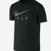 T Shirt oblong kaos nike fly size m l xl xxl keren murah