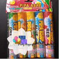 smokebomb pipa asap