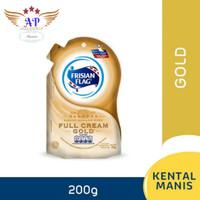 FRISIAN FLAG SUSU KENTAL MANIS GOLD POUCH 200 Gr