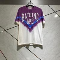 Kaos bape bathingg ape font purplewhite