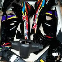 Full set body halus dan kasar Supra X 100cc