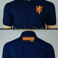 T Shirt oblong kaos holland knvb size s m l xl xxl 3xl 4xl keren murah