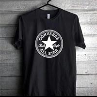 T Shirt oblong kaos converse all star size s m l xl xxl 3xl 4xl murah
