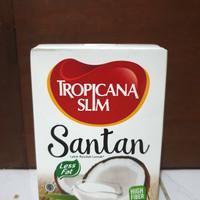 Tropicana Slim Santan 5 Sachet Santan Kelapa Masak Less Fat Diet Keto