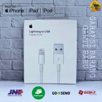 KABEL DATA CHARGER LIGHTNING USB IPHONE IPAD ORIGINAL GARANSI TERLARIS