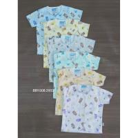 3 pcs baju bayi perlengkapan pakaian bayi motif nasuka katun unisex