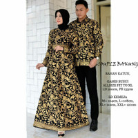 Couple Bakung sarimbit keluarga baju batik pesta