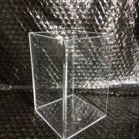 Soliter aquarium Akrilik 10x10x15 Untuk ikan Cupang Guppy