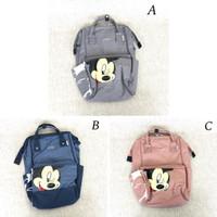 Backpack tas ransel wanita Anello mickey reg