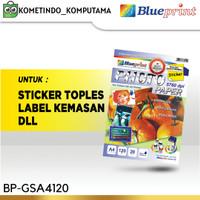 Kertas Sticker Glossy A4 BLUEPRINT 120 gsm BP-GSA4120