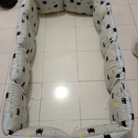 bumper box baby aja bahan katun(bisa request motif)