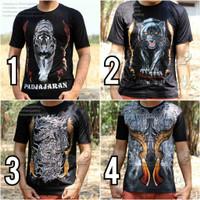 3D T-Shirt, Macan Putih Kuning, Kaos Macan, Macan Kembar, Kaos Spandek
