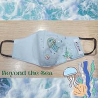 Beyond the Sea Cotton Mask (Earloop)