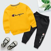 Sweater Baju + Celana Anak Laki-Laki/ Stelan Anak Hamp/ Pakaian Anak
