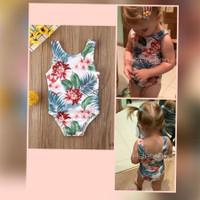 baju renang bayi 3bln-2thn motif bunga
