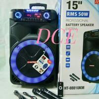 Speaker Portable ASATRON HT 8881 UKM 15inch Asatron 8881UKM