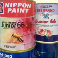Cat kayu dam besi bee brand junior 66 nippon paint