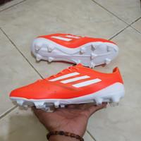 Sepatu Bola Adidas F50 Orange White FG